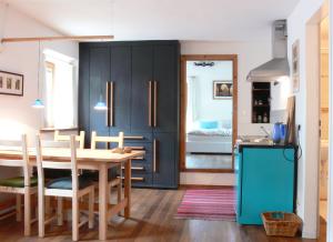 Küche + Schlafcouch Nockspitz
